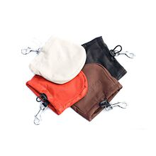 Treat bags available in black, red, brown and white leather
