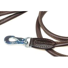 Premium brown rolled leather lead