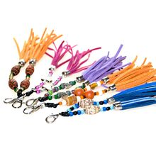 Order a decorative collar tassels to compliment your Swarovski martingale dog collar