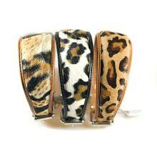 Safari range leopard collars