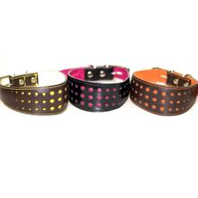 Elegant dots in bright colours with matching lining and stitching