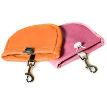 Treat pouches are available in different colours