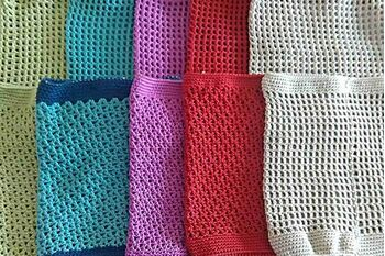 Crochet cotton snoods - made to order