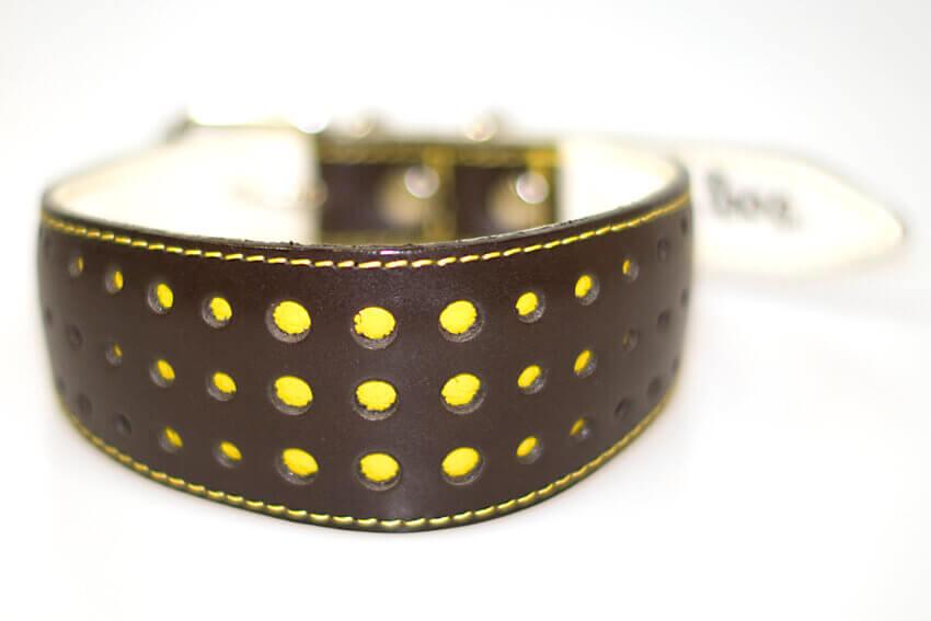 Elegant Yellow Daisy collar