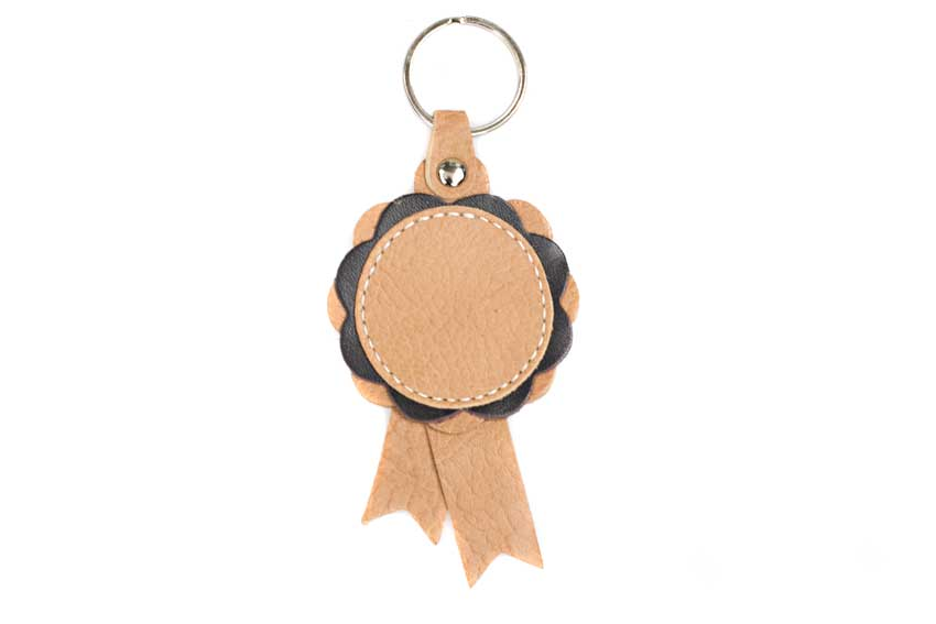 Winner show rosettes in beige and turquoise  can be customised with your personal message