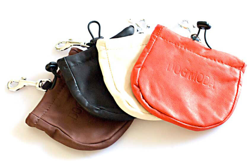 Dog training treat bags available in 4 colours to match your outfit