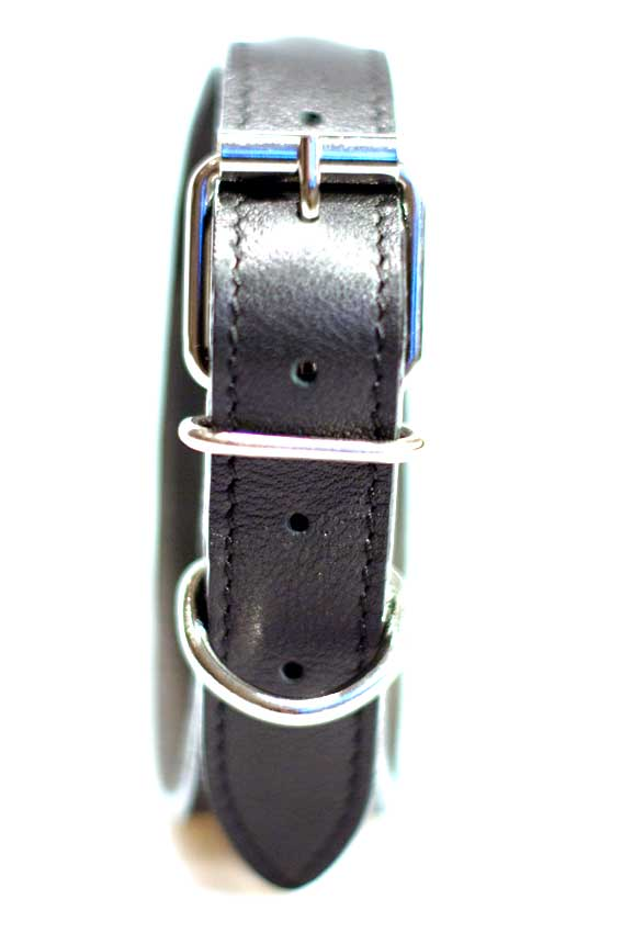 Quality hardware used on all Dog Moda sighthound collars