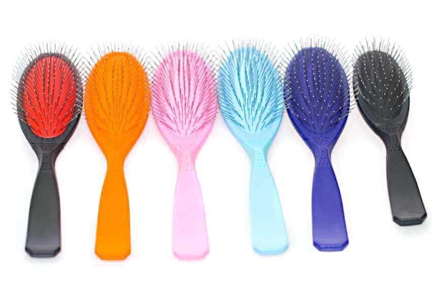 Full range of Madan pin brushes for dogs