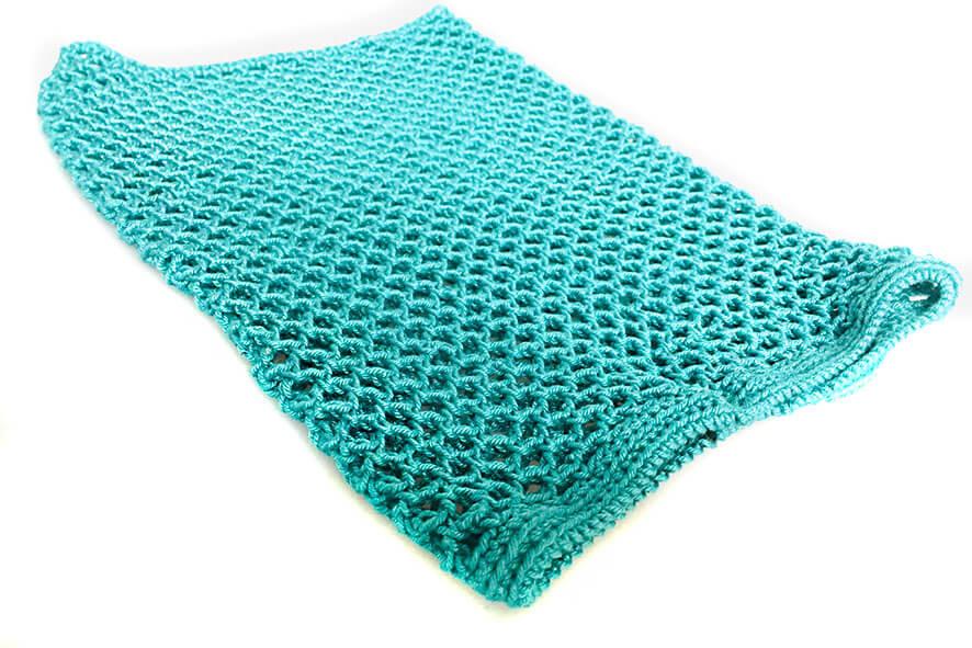 Afghan hound crochet snood