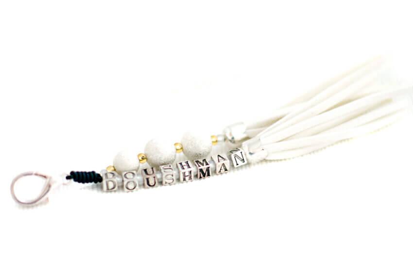 Decorative collar tassels to match your collar