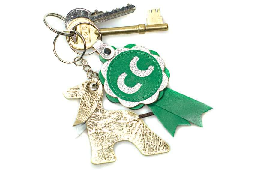 Dog Moda key rings make great gifts for dog lovers