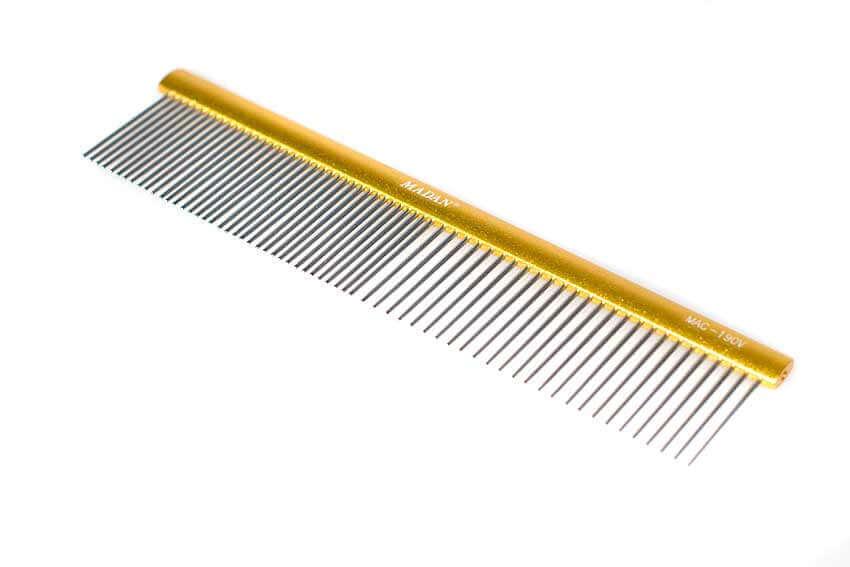 Combination non-slip comb