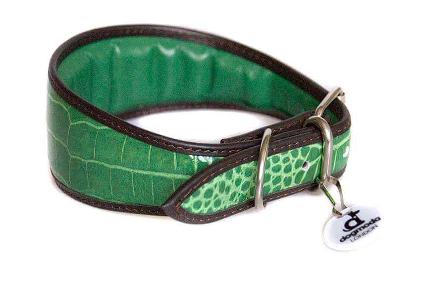 All Dog Moda collars are fully lined and padded for ultimate comfort