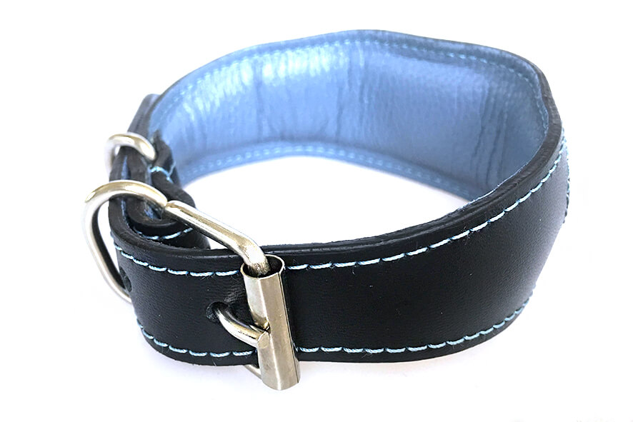 Full padding and lining on all Dog Moda collars