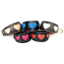 Extensive colour choices in our Hearts hound collar collection