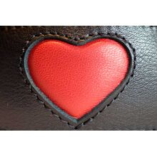 Red hearts - our signature hound collar design