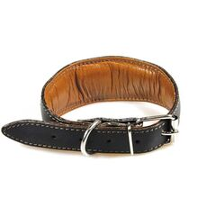 All our hound collars are fully padded and lined with soft leather