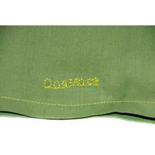 Dog Moda fabric snoods can be customised with embroidery