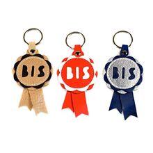 BIS rosette key rings colour range