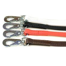 Stitched leather go leads in for colours