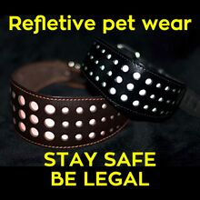 It is a legal requirement for pedestrians to wear items of reflective material