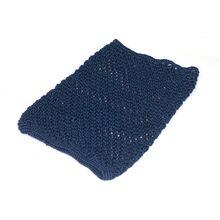 Blue cotton crochet Afghan Hound Saluki dog snood