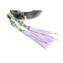 Lilac collar tassel