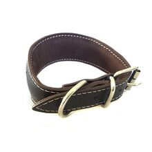 Fully padded, lined and extra soft and comfortable whippet collar