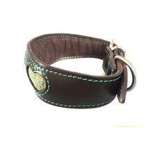 Green moss whippet collar