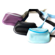 Dog Moda treat bags with zip are available in several colours