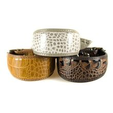 Animal print  collection of Whippet puppy collars