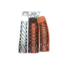 Soft martingale collars in size L available with narrow and wide ribbons