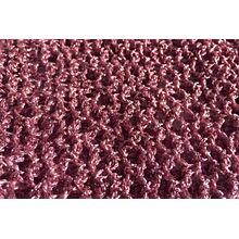 Metallic pink crochet Afghan Hound Saluki bitch