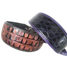Brown python and purple indigo snake hound collars