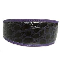 Purple indigo snake hound collar