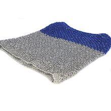 Silver blue crochet Afghan hound Saluki dog snood