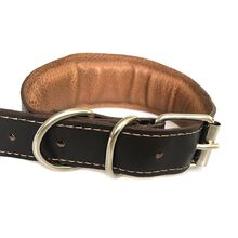 All our collars are fully lined and generously padded