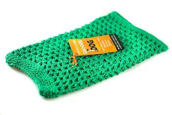 Cotton crochet dog snood
